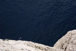 Melody Calanques, grande voie facile Calanques