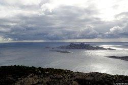 îles du Riou, gimpe et mistral