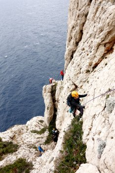 Calanques escalade, escalade week-end