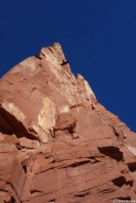 Castleton, desert tower, escalade aux Etats-Unis