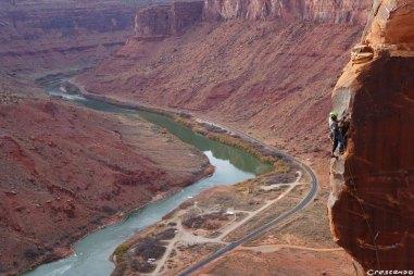 Colorado escalade, grimper aux Etats-Unis, grimpe autour de Moab