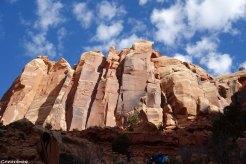 falaise Indian creek, escalade traditionnelle, guide d'escalade