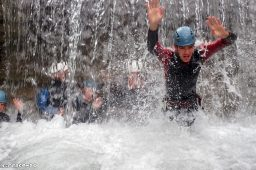 canyoneering with friends, whitewater Vallouise, Whitewater Briançon