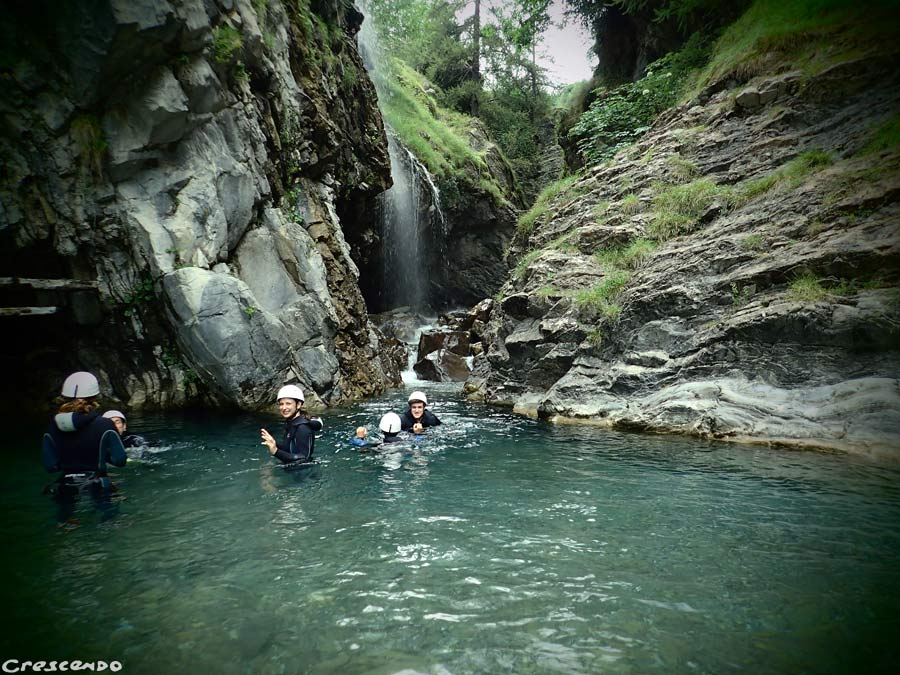 outdoor activities Embrun, Serre ponçon canyonig