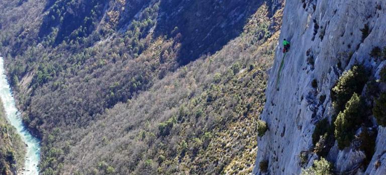 Verdon : découvrir la grande voie à l'Escalès