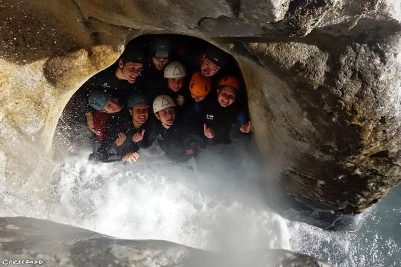 canyoneering, canyoning friends, canyoning sporty