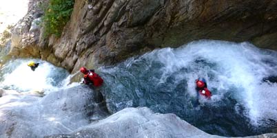 Canyoning Alps, White water Alps