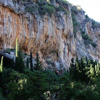 Watermill, Kyparissi escalade, grimpe en Grèce, séjour escalade