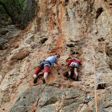 stage et séjour escalade, partir grimper, découverte escalade Leonidio
