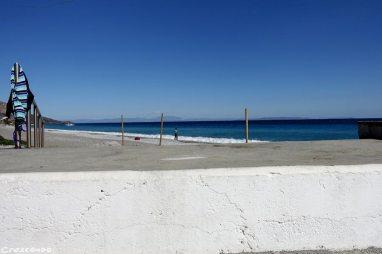 Leonidio beach, stage leonidio