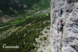 climbing beginners, climbing Guillestre