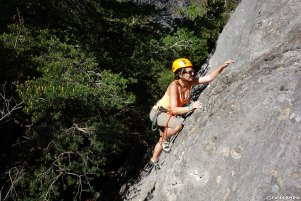 rock climbing course, climbing beginner