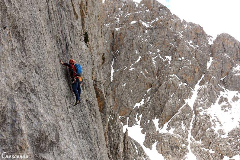 climbin guide, sejour grande soie, stage escalade
