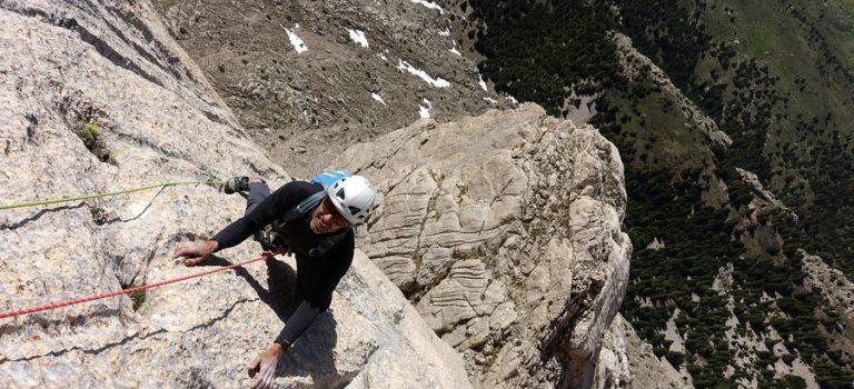 Grimpe dans l'Aladaglar : grande voie en Turquie