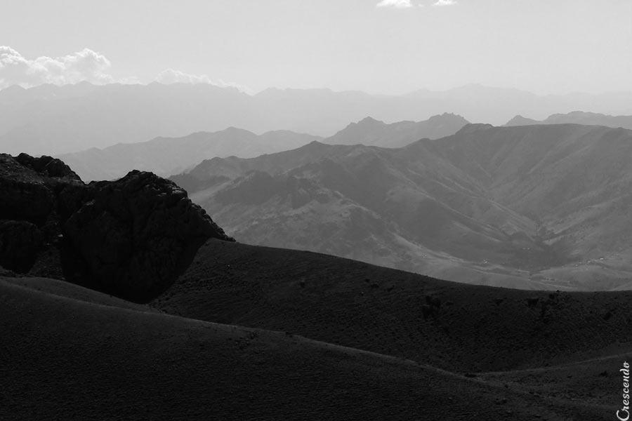Taurus mountain, climbing in Taurus