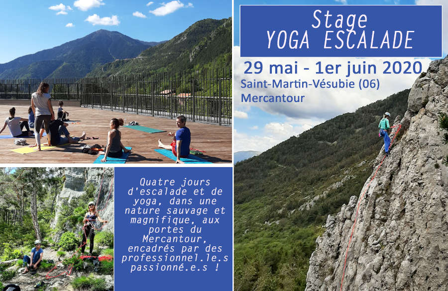stage yoga escalade