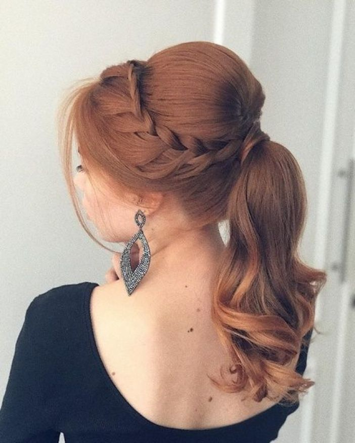 rabo de cabelo penteado para faculdade