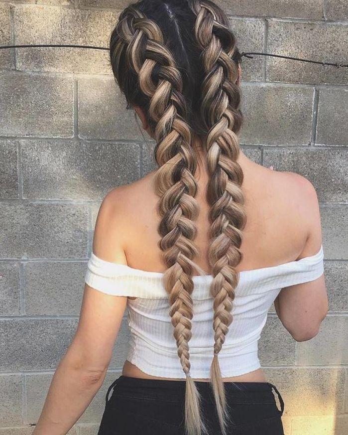 penteados para faculdade cabelo