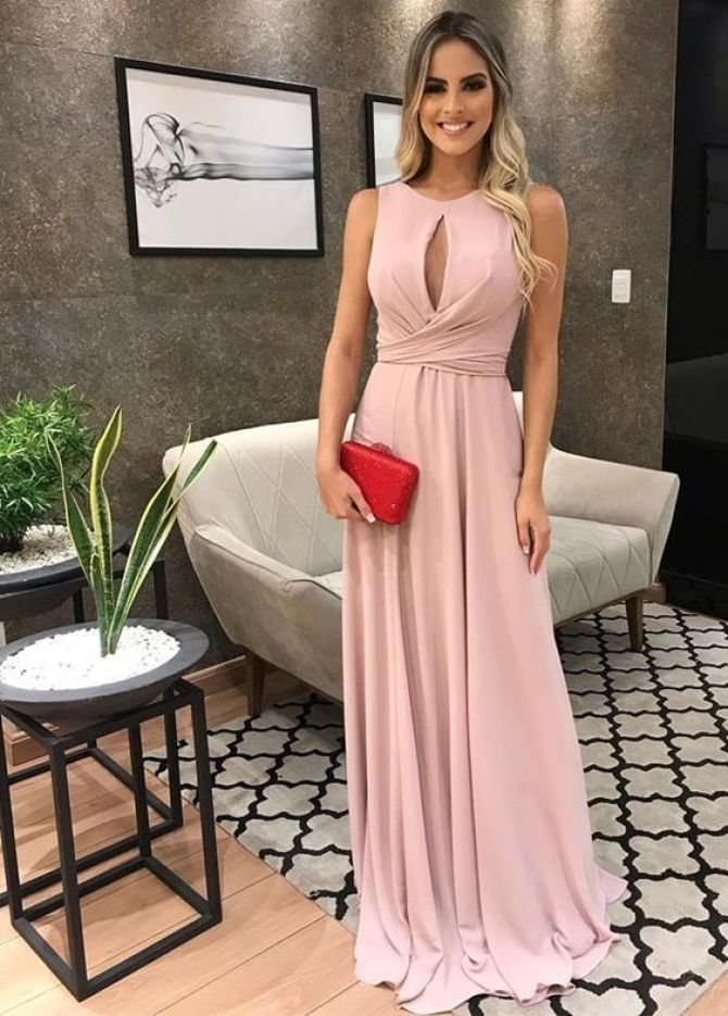 vestido simples madrinha de casamento