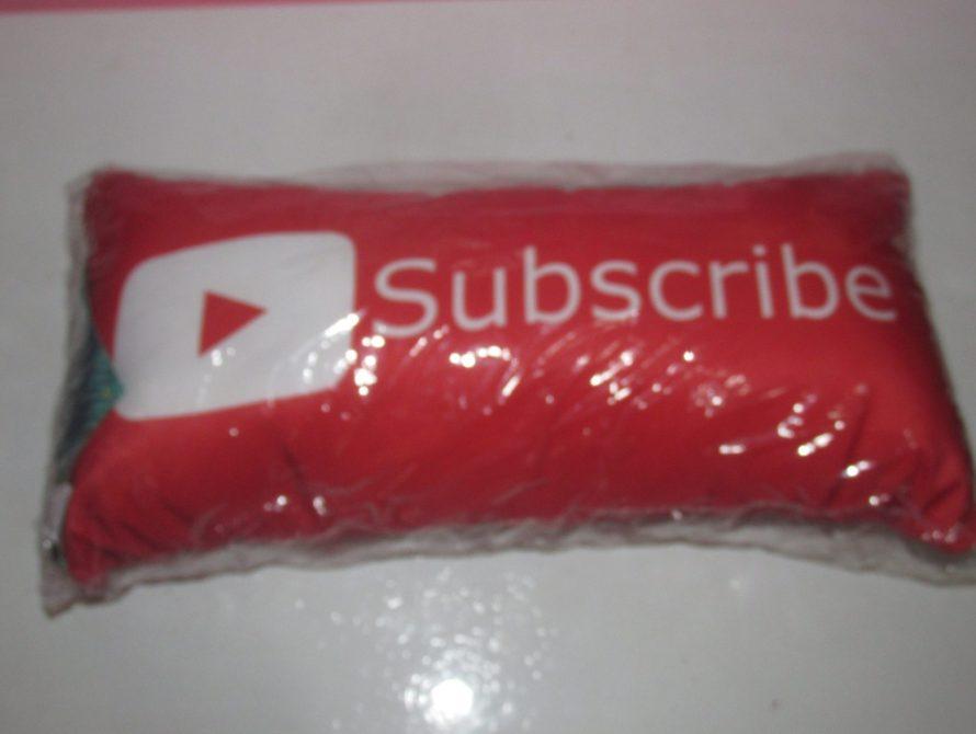 recebidos do mês almofada youtube gorila clube #recebidos #mimos #blogueira