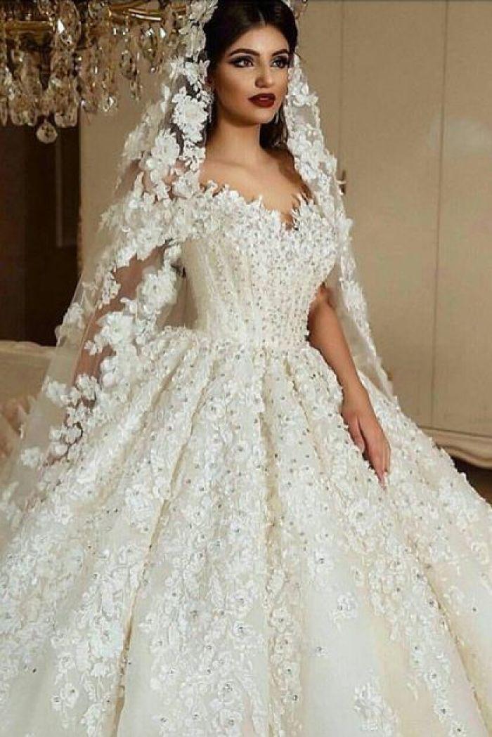 Vestidos de noiva - 20 modelos para o casamento dos sonhos