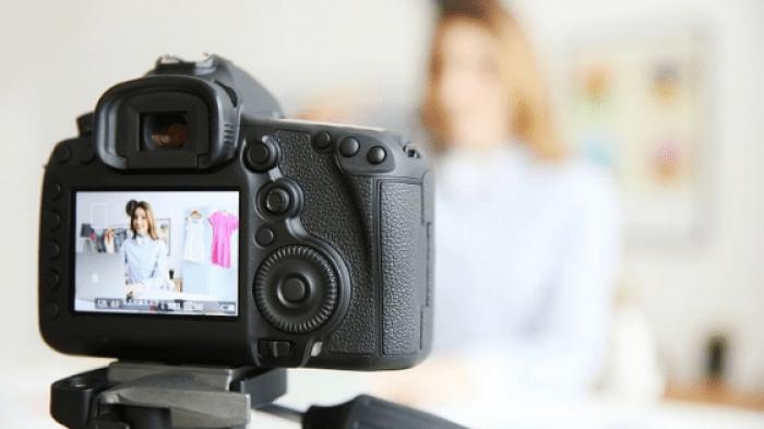 gravando vídeo