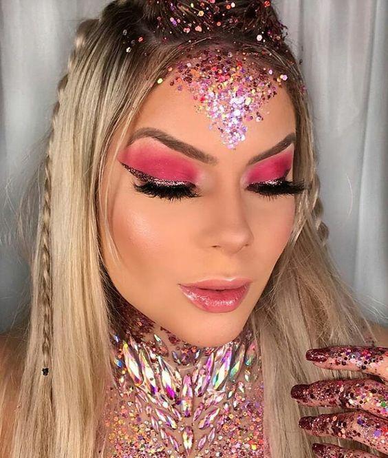 makeup-glitter-maquiagem-carnaval