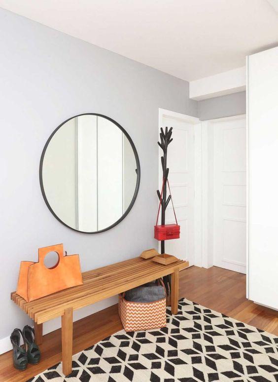 espelho redondo