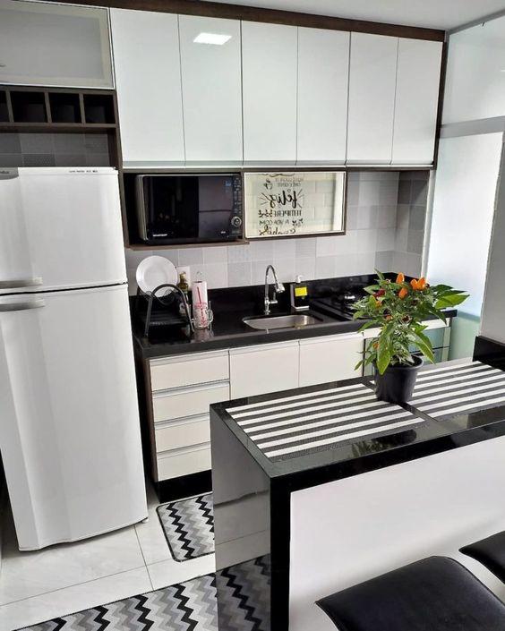 cozinha pequena como decorar