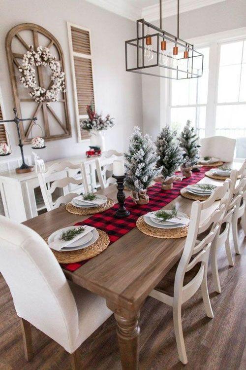 mesa posta de natal