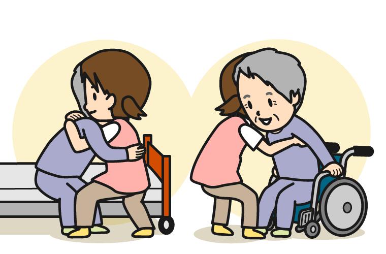 介護初心者にも分かりやすい移乗・移動介助の基本