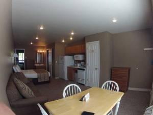Okoboji Vacation Rental Dining Room and Kitchen