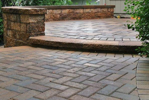 Brick Patio & Brick Steps Northern VA