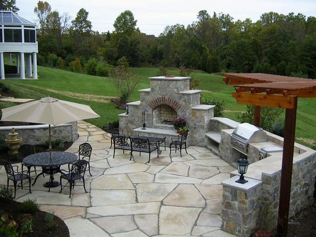 Crescent DC | Stone Patios Design & Construction ... on Patio Designs Images  id=43988