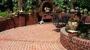 Amazing Round Brick Patio