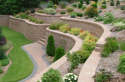 Stunning Garden Retaining Walls