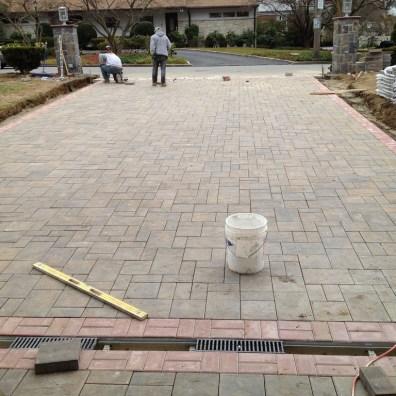 Installing Paver Driveway