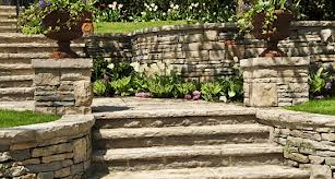 Nice Retaining Walls and Stair Work