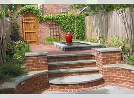 Nice Brick and Concrete Steps and Retaining Walls