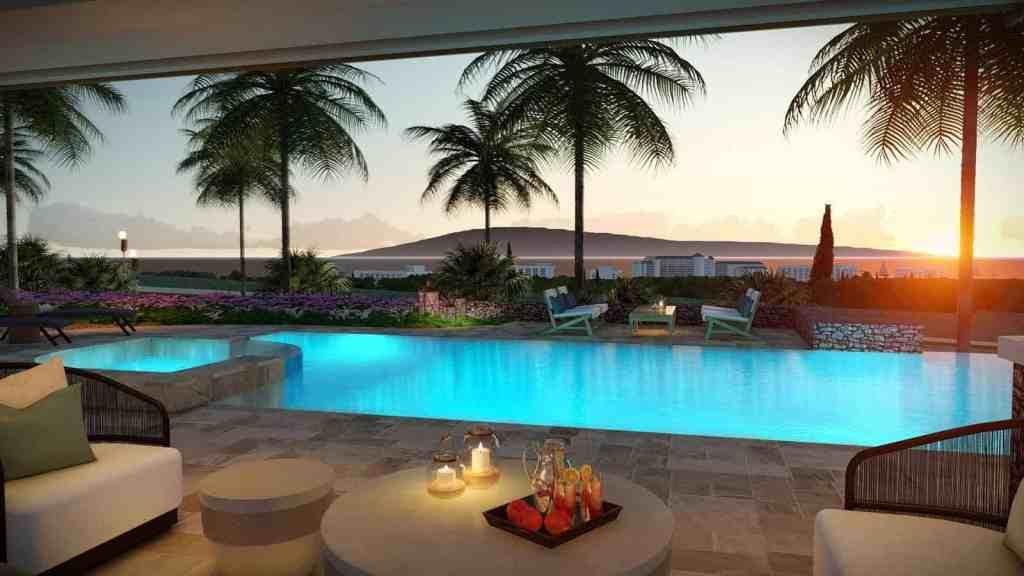Maui home with custom deck and pool
