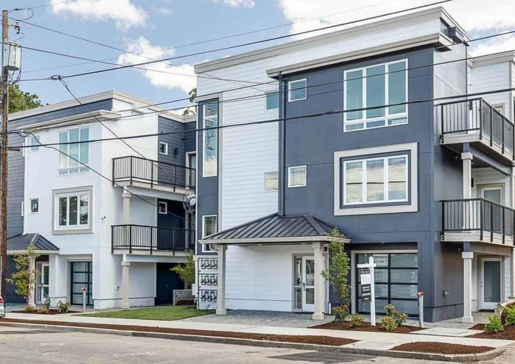 North Willis, Portland, multi-family construction project by Crescent Homes