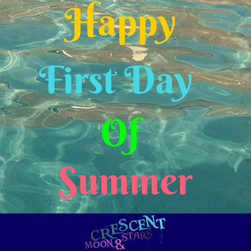 Happy First Day of Summer ~ Crescent Moon & Stats