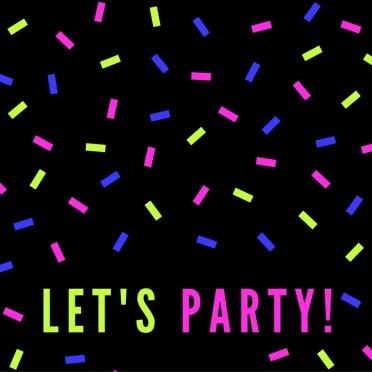 Let's have a success party!