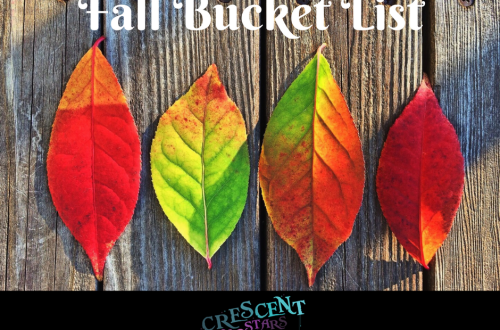 Fall Bucket List Challenge