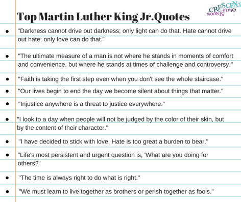 Top MLK Quotes