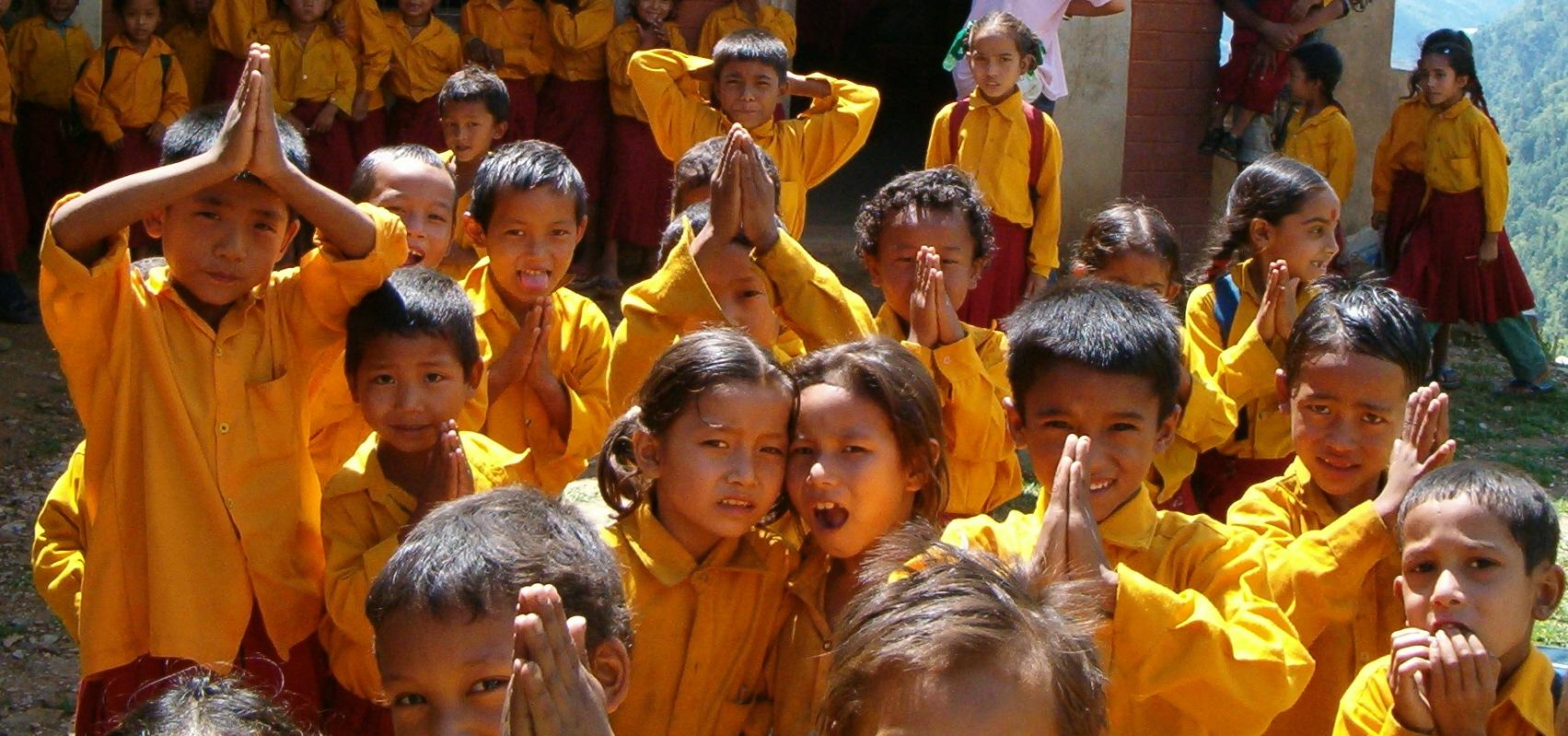 progetto educativo a Thulo Parsel
