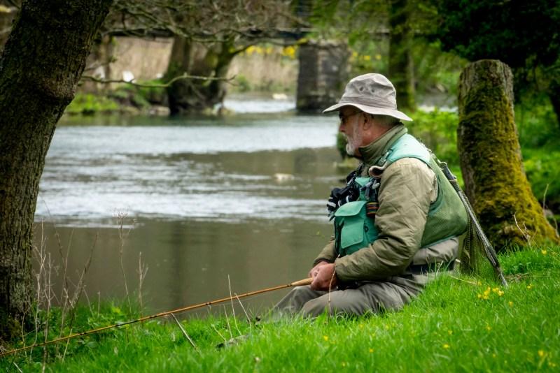 Fishing on the wye