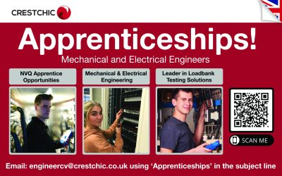 Crestchic calls for new apprentice engineers following sustained global growth