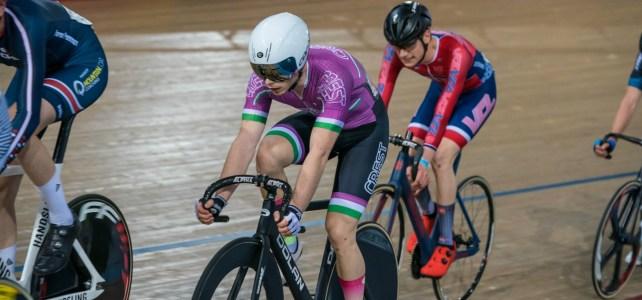 Ryan Savage track racing