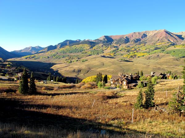 Prospect subdivision in mount crested butte colorado